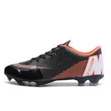 Los hombres niño niños zapatos de fútbol de césped de fútbol zapatos de  fútbol TF duro Tribunal zapatillas de deporte zapatillas. c94997e484a99
