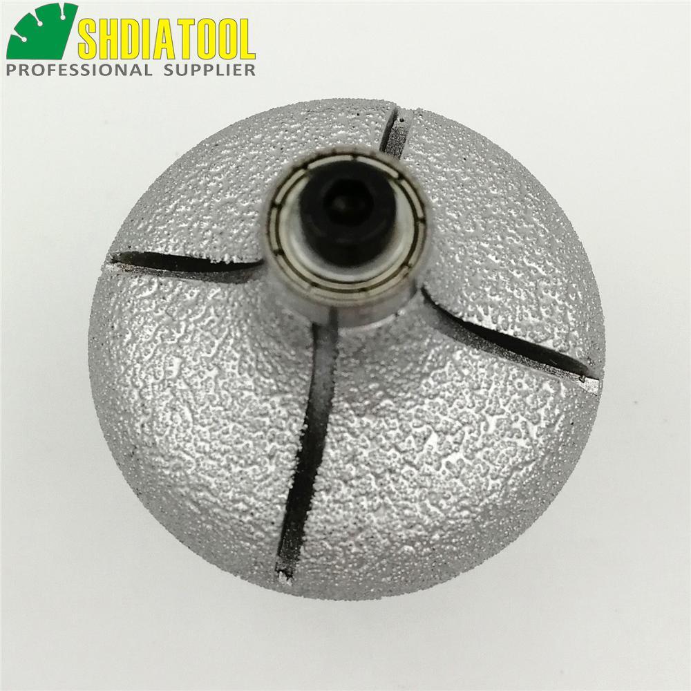 SHDIATOOL No.22 Mèches de toupie diamantées brasées sous vide avec - Outils abrasifs - Photo 5