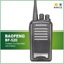 Scorching Promote 5W Model New UHF 400-470 16 CHS Baofeng BF-520 Black Low-cost Walkie Talkie