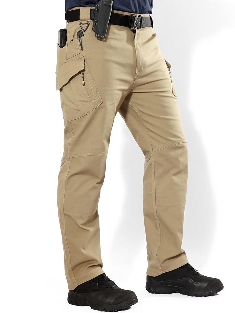 Original IX9 Men City Tactical War Game Cargo Pants Casual Pants Mens Trousers Combat Stretch Cotton SWAT Army military Trouser