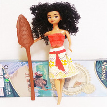 33cm Moana Princess Moana Doll Adventure Pack Action Figure Toys For Girls Birthday Gift