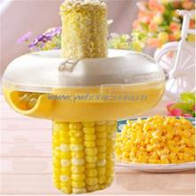 Hot Sale Kitchen Necessary Helper Easy Peel One Step Corn Kerneler Stripper Peeler Remove Separator