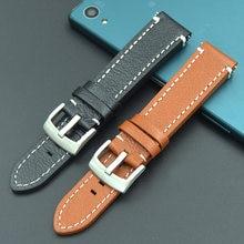 Ремешок из натуральной кожи для часов tissot seiko mido браслет