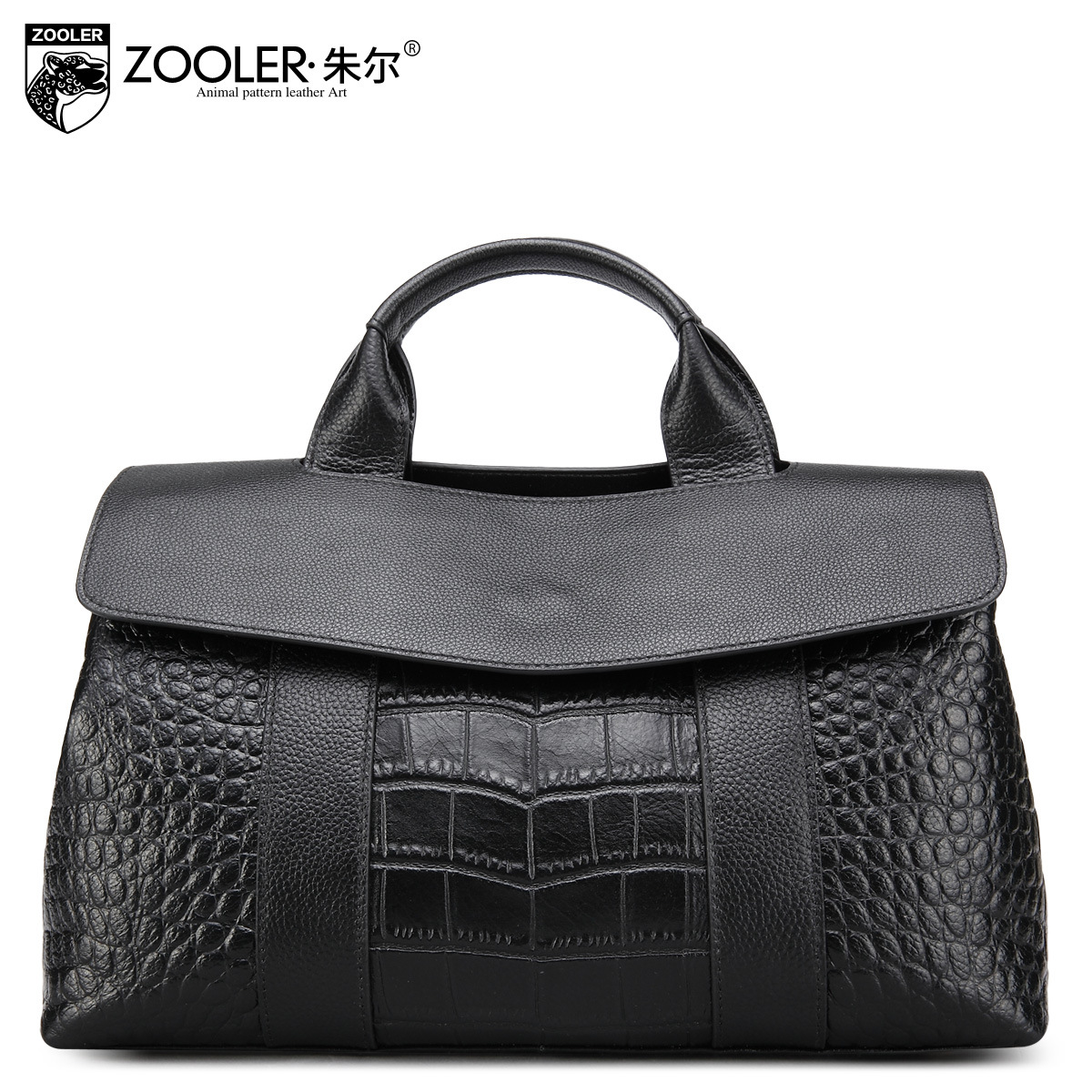 ZOOLER Brand Luxury Handbags Women Bags Designer Genuine Leather Bags Fashion Crocodile Pattern Handbag Messenger Shoulder Bag zooler fashion casual shoulder bag crossbody bags luxury brand designer handbag women high quality genuine leather purse h123