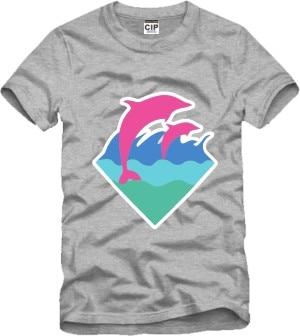 Popular Pink Dolphin T Shirt-Buy Cheap Pink Dolphin T Shirt lots ...