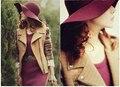 NUEVO 100% pura lana caps sombreros de ala playa stetson de Höfn disquete ala ancha dom sombrero plegable con el lazo de las mujeres otoño-verano