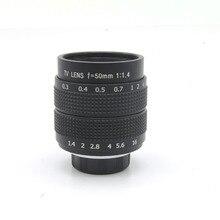 50 มม.f1.4 กล้องวงจรปิดกล้องเลนส์สำหรับ M4/3 EPM1 EPM2 EP5 EPL6 EPL7 E P3 E PL3 EM5 EM1 g3 G5 G6 GF3 GH3 GH2 GX1 GX7
