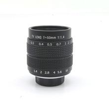 50mm f1.4 CCTV Obiettivo di macchina fotografica per M4/3 EPM1 EPM2 EP5 EPL6 EPL7 E P3 E PL3 EM5 EM1 g3 G5 G6 GF3 GH3 GH2 GX1 GX7