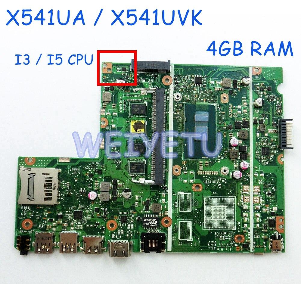 Computer & Office Q502la Motherboard For Asus Q502 Q502l Q502la Laptop With Intel Sr1ef I5-4210 1.7ghz Cpu 60nb0580-mb1320-202 4gb Memory Rev 2.0