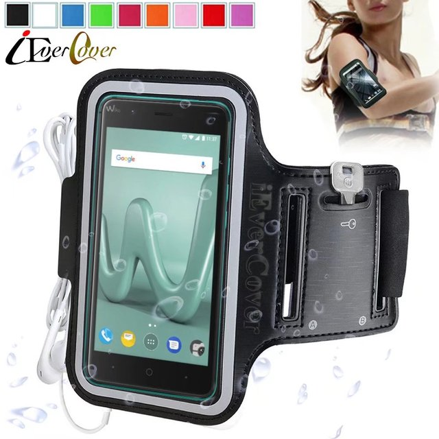1d4ce4a4 Sport Running Arm Band Case for Wiko Tommy 2 , Harry , Kenny , Jerry Max