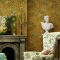 Amerikan Rustik Elma Ağacı Duvar Kağıtları Ev Dekor Yaprak Çiçek Mavi Duvar Kağıdı Rulo Oturma Odası Yatak Odası Dekorasyon için Duvar