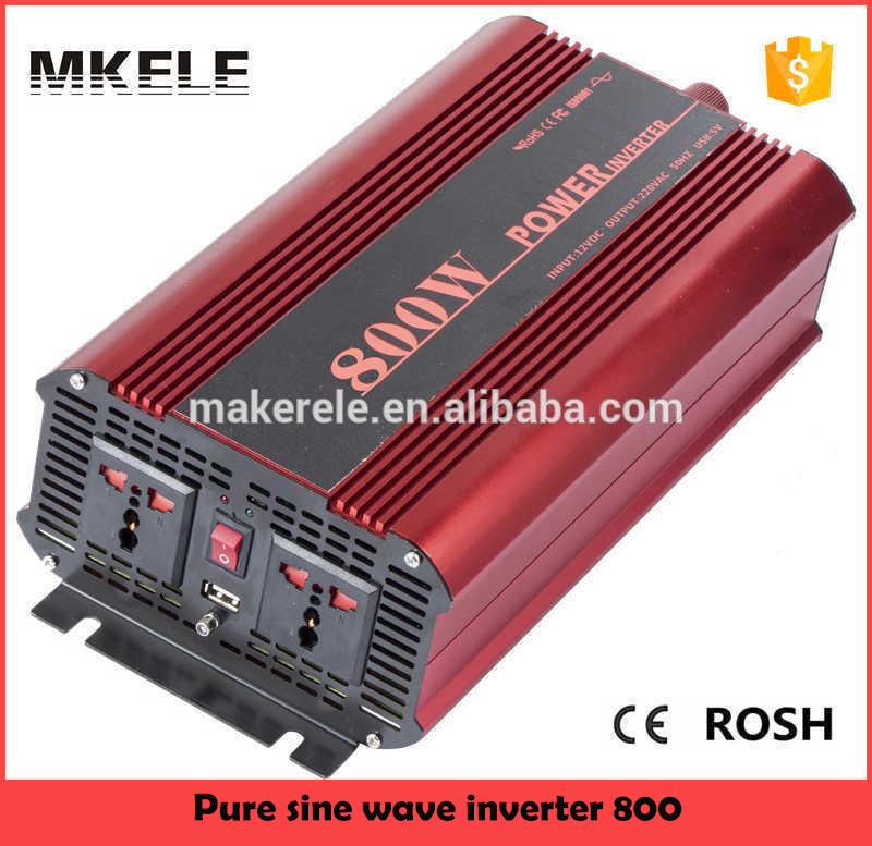 MKP800-242R 800Watt pure sine aims inverters 24vdc to 220vac pure sine wave air conditioning inverter aims power inverters