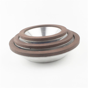 """Image 4 - 4"""" 100mm Diamond Coated Concave Cup Shaped CBN Grinding Wheel for Carbide Metal"""