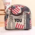 Multifunction Picnic Bag Can Be Put Tableware Waterproof Lunch Box Party Lunch Plate Food Gift Lunch Bag
