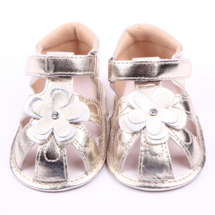Children Baby Kids Boys Girl PU Sport Flower Floor Shoes Autumn Fashion Non-Slip Soft Toddlers First Walkers