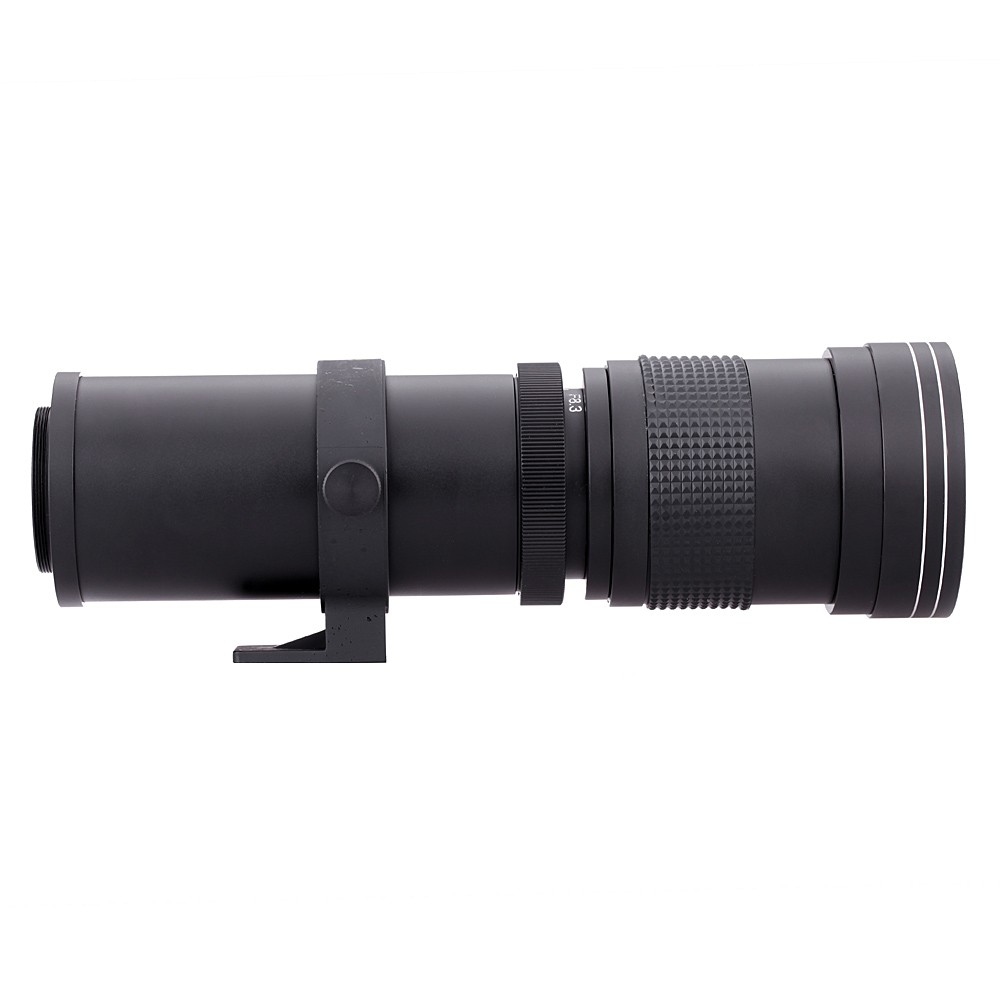 Lightdow 4-800mm F/8.3-16 Super Telephoto Lens Manual Zoom Lens for Canon Nikon Sony Pentax DSLR Camera 4