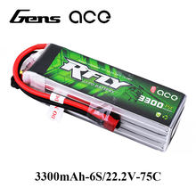 Gens ace RFLY 3300mAh 6S 22,2 V 75C Max 150C Lipo Batterie mit XT60 Dean T Stecker für traxxas Boot Heli Fixed Wing Drone Flugzeug