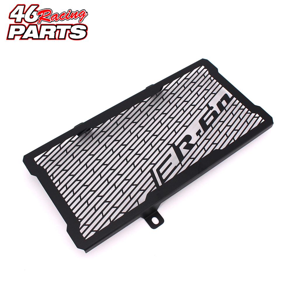 Black Motorcycle Accessories Radiator Guard Protector Grille Grill Cover For Kawasaki Ninja ER6N ER-6N 2012 2013 2014 2015 2016 цена