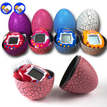 New Electronic Pets Dinosaur Egg Interactive Toys For Children Tamagotchi Tumbler Virtual Cyber Digital E-pet ZB-A32-38