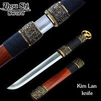 LQS15hj070017 Hand Making Dagger Vintage Home Decor Phoenix Short Sword