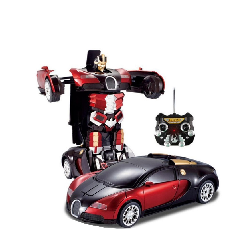 Deformation Robot Transformation Remote Control RC Car TT663 electric sound and light play drift car rc car kid gifts vs TM00106