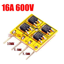 16A 600V 18 nanoseconds High speed Rectifier Bridge Circuit board for audio amplifier