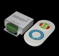 Ledストリップライト調光器5050 3528シングルカラーrfタッチセンサー12a 2チャンネル12v-24vdc高品質