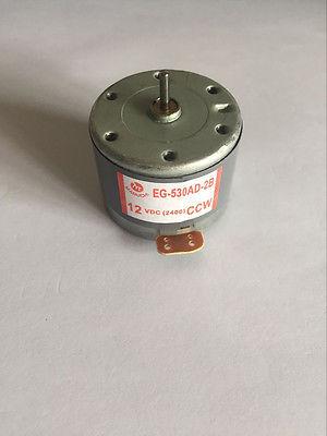 EG-530AD-2F/2B/6B/6F/9B/9F CCW CW 2400RPM 6V 9V 12V Recorder motor High Torque Cylinder Shaped Electric Mini DC