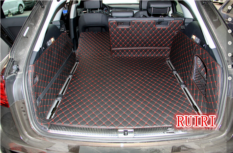 Interior Accessories Automobiles & Motorcycles Nice Fit For Audi A5 A6 C5 A6l C6\c7 A7 A8l 2008 2009-2017 Car Trunk Rug Waterproof Boot Liner Rear Cargo Back Seat Protector Mats