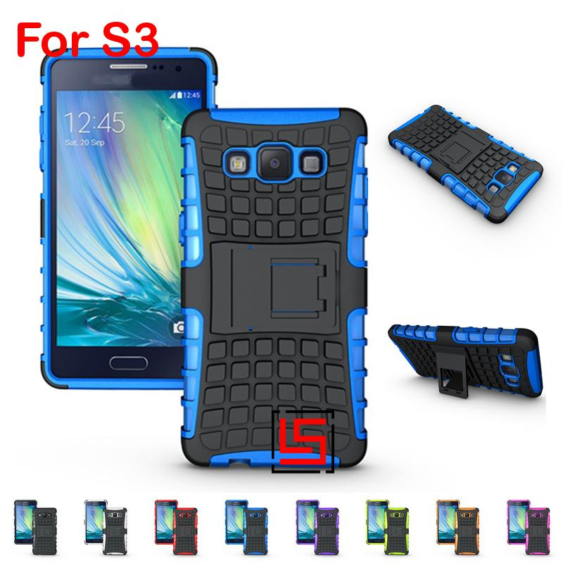 Armor Rugged Hybrid Hard PC TPU Rubber ShockProof Phone Cell Case Coque  Cover Bag For Samsung