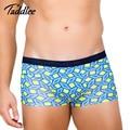 Taddlee marca men underwear básica suave modal boxer trunks gay pene bolsa wonderjock grande más tamaño elásticos de colores de impresión cortos
