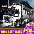 Serie Lepin 23008 4380 Unids Nueva Técnica El MOC Ala Carrocería Del Camión Conjunto de 1389 Bloques de Construcción Ladrillos Niños Juguetes Educativos regalo