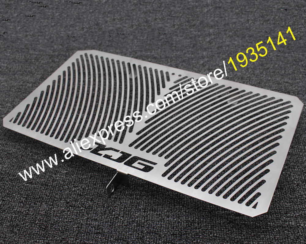 Hot Sales,Radiator Grille Guard Cover For Yamaha XJ6 2009 2010 2011 2012 2013 XJ-6 09-13 Oil Cooler Guard Cover Motorcycle Parts motorcycle radiator grill grille guard screen cover protector 2 color options for bmw f800r 2009 2010 2011 2012 2013 2014