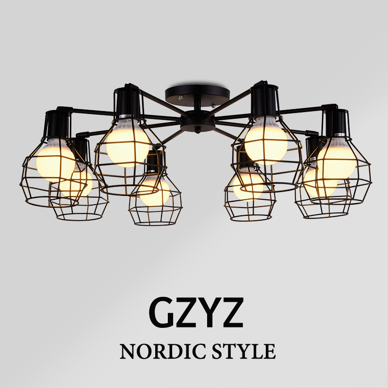 Modern plafond ceiling lamp wireless lights black child for Plafond moderne