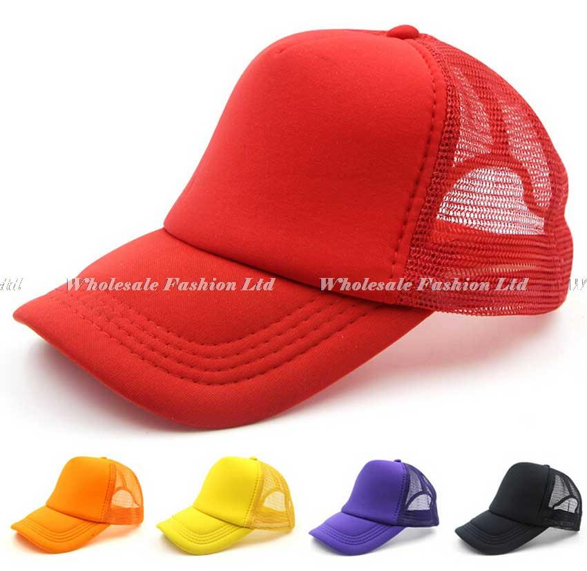 Bulk Hats 36pcs Lot Cheap Kid Summer Trucker Hat Child Spring DIY Mesh  Snapback Hats Boy Plain Cap Girls Sun Caps Wholesalers-in Baseball Caps  from Apparel ... 78f78b780b5