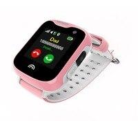 Kids Mini GPS Watch with SOS Emergency Anti Lost GPS tracker Smart Mobile Phone App Bracelet Wristband Two Way Communication