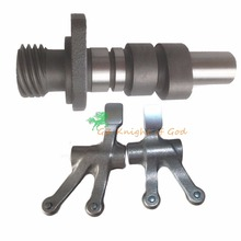 Wangjiang Motorcycle Engine Parts Camshaft Tappet Shaft Cam & Rocker Arm For uzuki GN250 Scooter 250 Bike