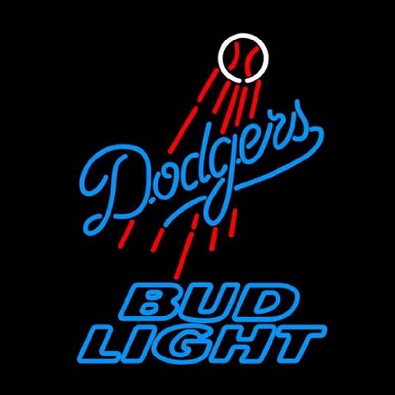 Neon Light Shop In Philippines: Bud Light Los Angeles Dodgers Neon Signs Neon Beer Sign