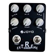 JOYO JF-17 Extreme Metal Eléctrico Guitarra Pedal de Efectos Bypass JF 17