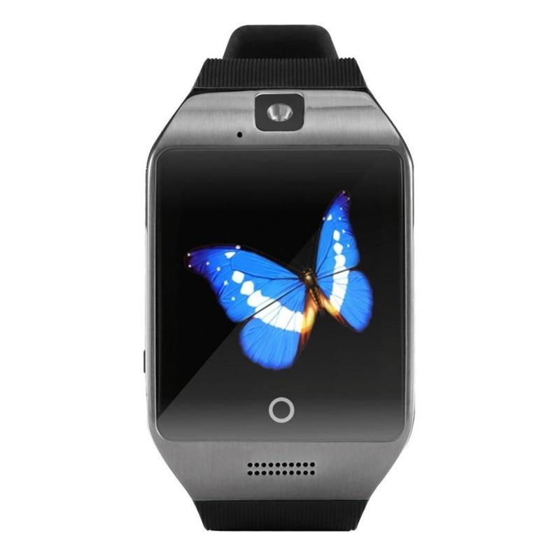 8689a3039373 2018 Top venta de la nueva manera 1.3 m Cámara impermeable Q18S Smart  Bluetooth reloj GSM Cámara TF Tarjeta de reloj para Samsung