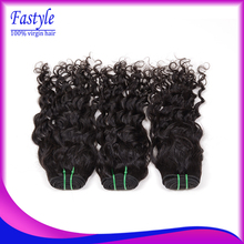On Sale 5A Indian Virgin Hair Natural Water Wave 3pcs Lot Cheap Indian Remy Human Hair Weave Bundles Mocha Fastyle Hair Products