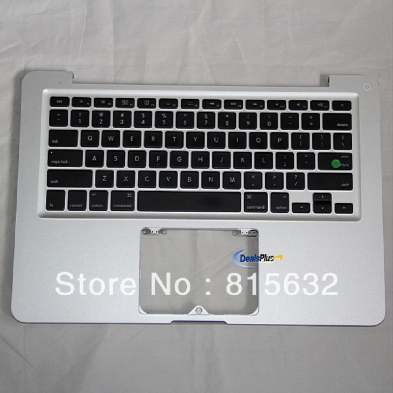 Tested FOR MACBOOK PRO A1278 Palmrest top case us keyboard & no trackpad 2009 2010, WHOLESALE