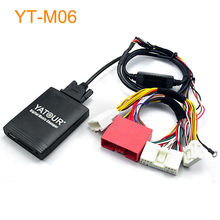 Car Digital Music CD MP3 Changer Adapter for Factory Head Unit OEM Radio for Mazda 3