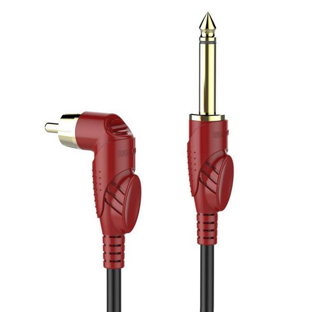 BIGWASP Premium Quality 79 Inches Silicone Soft Tattoo RCA Connector Cords For Rotary Tattoo Machines