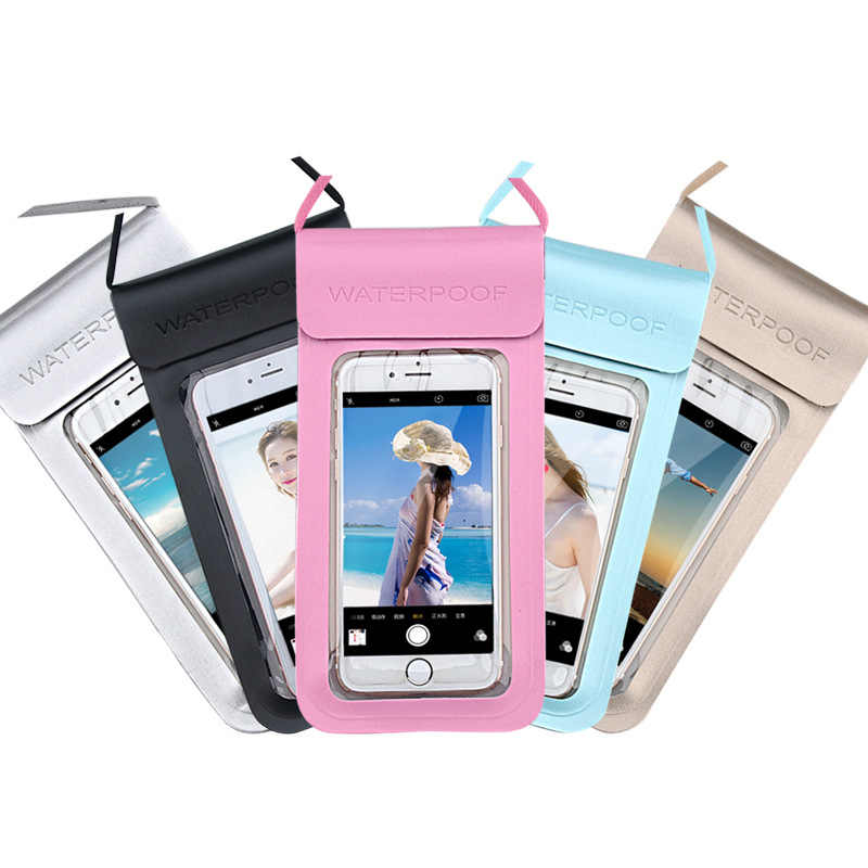 Universal Waterproof Phone cover For Blackview BV5500 Max 1 A20 pro A30 BV1000 BV5800 BV6800 pro BV9500  Pouch Bag Swim Case