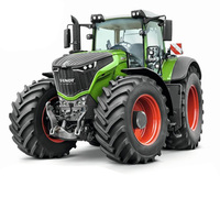RC Tractor Full Control Trailer High Simulation 4 Rubber Wheel Farm Tractor Engineer Remote Control Tractor