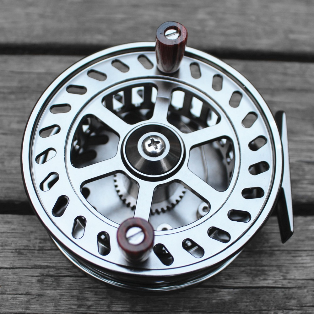 Floating-Reel Center-Pin SALMON STEELHEAD FISHING MACHINED ALUMINUM CNC 4-103MM TROTTING