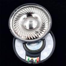 лучшая цена 50mm 32 ohm N48 Magnet Titanium Film Headphone Driver Unit High Fidelity DIY Audiophile Monitor Headphone Loudspeaker