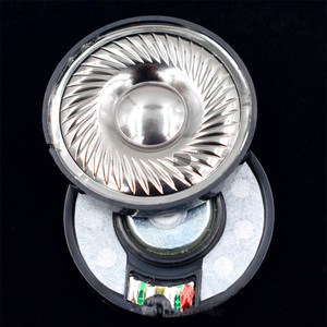 Image 1 - 50mm 32 ohm N48 magnes Film tytanowy napęd słuchawkowy wysokiej wierności DIY audiofilski Monitor słuchawki głośnik