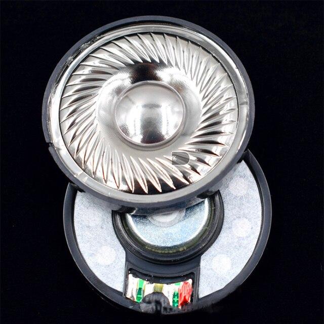 50mm 32 ohm N48 magnes Film tytanowy napęd słuchawkowy wysokiej wierności DIY audiofilski Monitor słuchawki głośnik